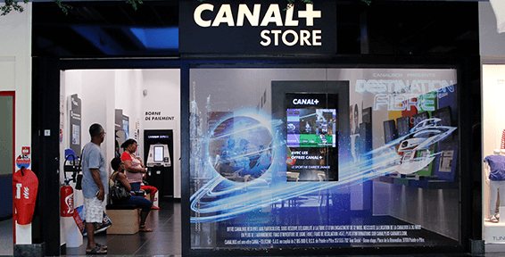 Canal + Store