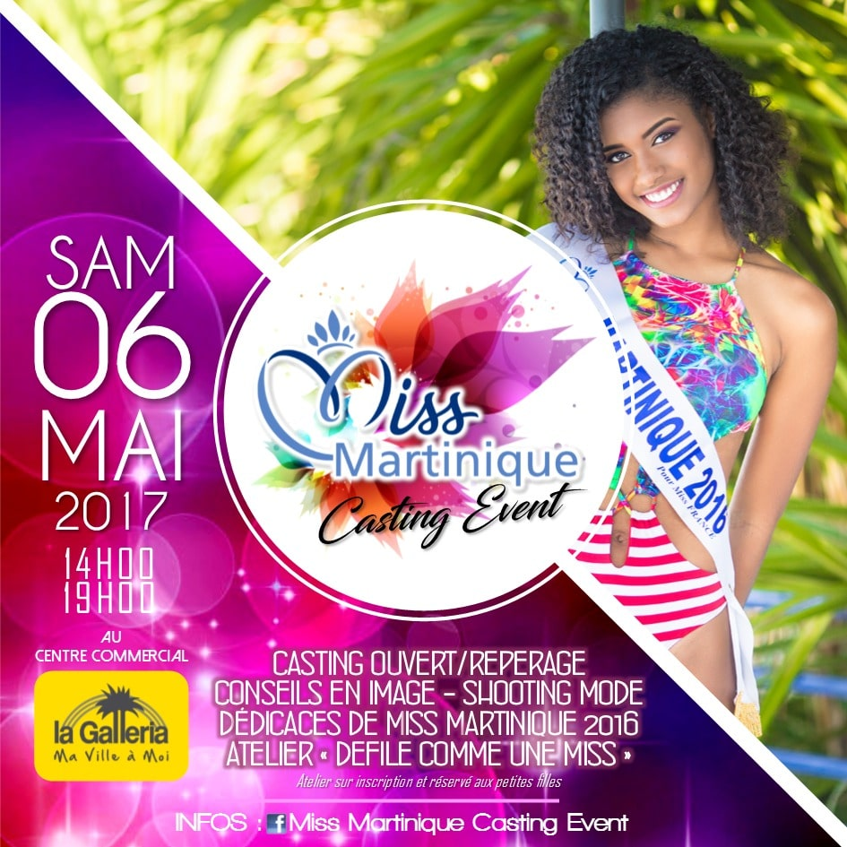 Miss Martinique MDLM Galleria 2017