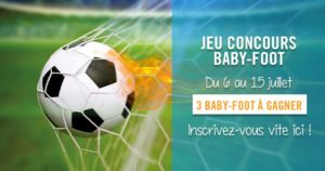 Jeu Concours Baby-Foot